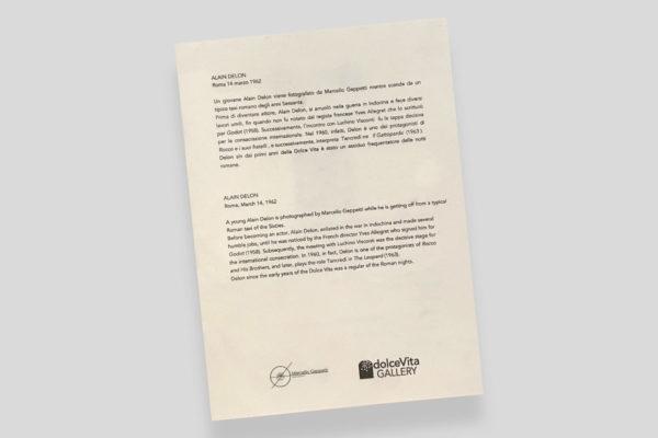 Certificato Alain Delon