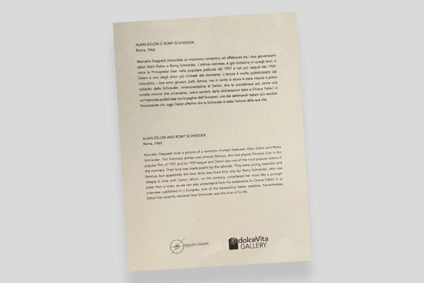 Certificato Delon e Schneider