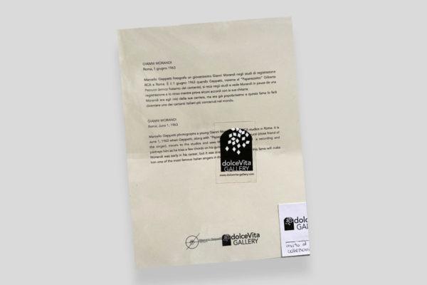 Certificato Morandi