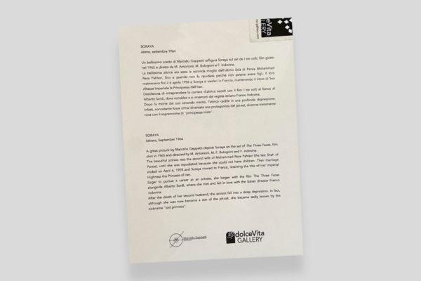 Certificato Soraya