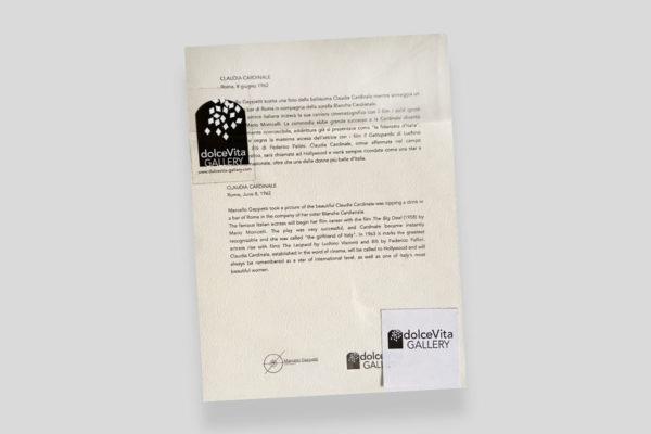 Certificato Cardinale