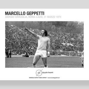 Giorgio Chinaglia foto Marcello Geppetti