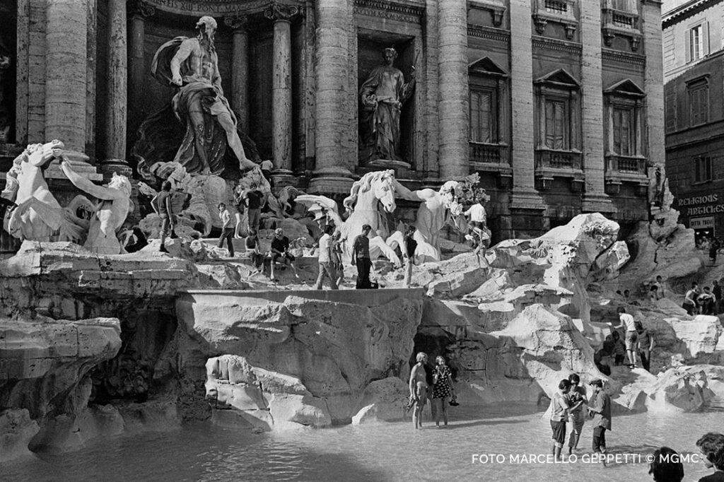 Quando le Fontane di Roma erano delle piscine a cielo aperto